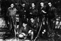 POL 0012 Gudaris del batallón ARABA de Amurrio en Llodio Palacio.jpg