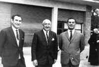 POL 0030 Inaguración gasolinera año 1966 Tres alcaldes.jpg